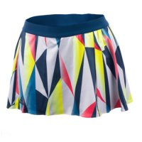 colorful tennis skirt