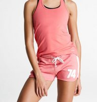 buy nice coral color tennis tank