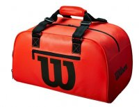 tennisbag red duffel