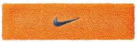 Nike swoosh headband orange