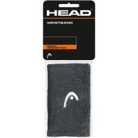 HEAD Wristbands 2-pack Anthracite