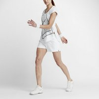 tennis shorts for women white nike