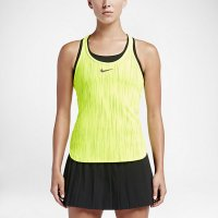 yellow tennis tank women