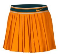 nike tenniskjol damer orange