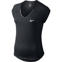 black tennis top from nike women