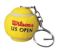 Wilson keychain  tennis ball