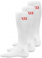 WILSON 3-pack Crew White size 39-46