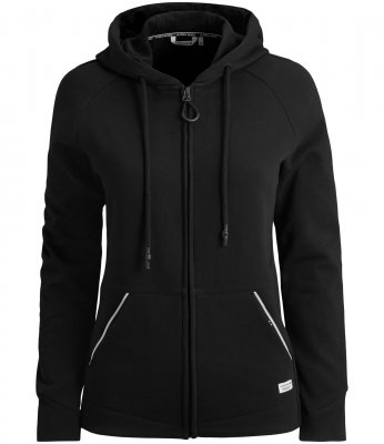 BJÖRN BORG DEONA HOODED JACKET BLACK (L)