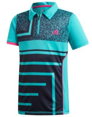 5d3e32b5 ADIDAS Boys Seasonal Polo - Boys - Tennis Clothing - Tennisshopen.se