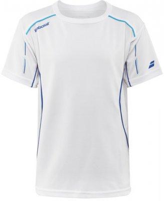 26d7ecbc Start · Tennis Clothing · Boys · Tennistops and shirts; BABOLAT T-Shirt  Match Core White. köp tenniskläder babolat pojkar