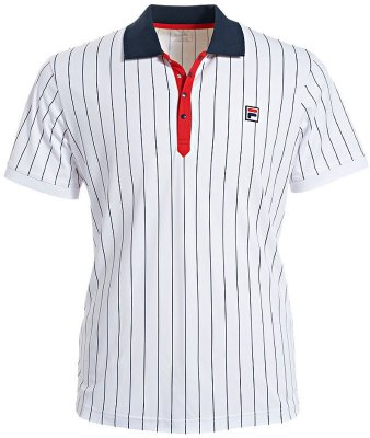 97c3f42c41d72 FILA Polo Stripes - Tennistops and shirts - Mens - Tennis Clothing ...