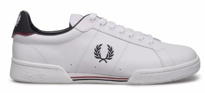 ... FRED PERRY Leather White Uni. fred perry sneakers for mens shoes 47a950e9c30da