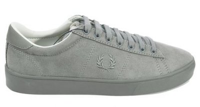 0d417859eb1 FRED PERRY Spencer Microfiber Grey Unisex - Fred Perry - Tennisshopen.se