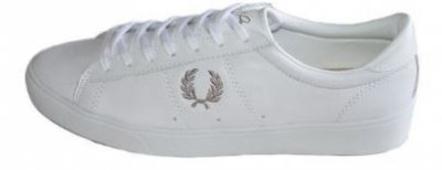 5e5773ab5b5 FRED PERRY Spencer Leather White Women - Fred Perry - Tennisshopen.se