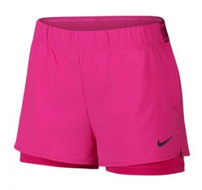 best loved d74f9 b01ee NIKE Women Flex Shorts med 2 st fickor - Fuchsia