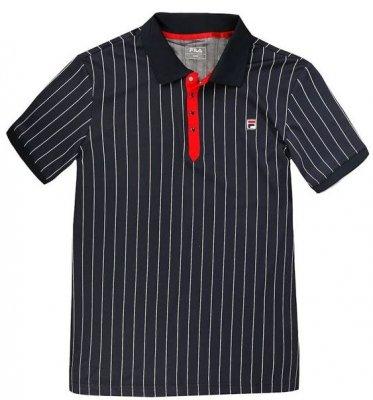 82bd6850aec FILA Polo Stripes Piké - Mens - Tennis Clothing - Tennisshopen.se