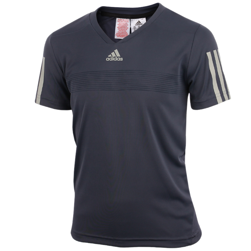 adidas barricade tee tennistops and shirts boys tennis clothing. Black Bedroom Furniture Sets. Home Design Ideas