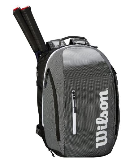 WILSON Super Tour Backpack BKGY