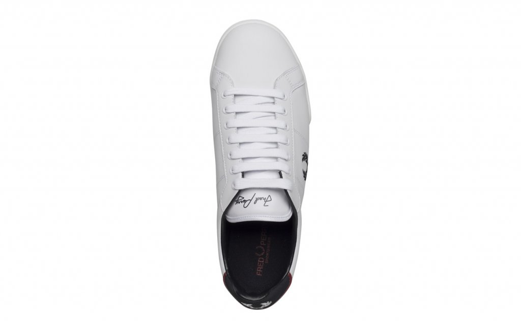 FRED PERRY Leather White Uni - Fred Perry - Tennisshopen.se 92a47af3b0fe0