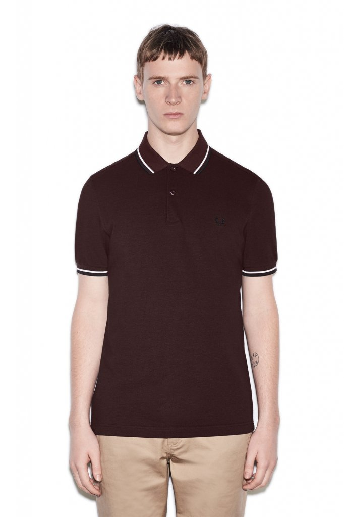 Fred perry twin tipped shirt mens tennis clothing for Fred perry mens shirts sale