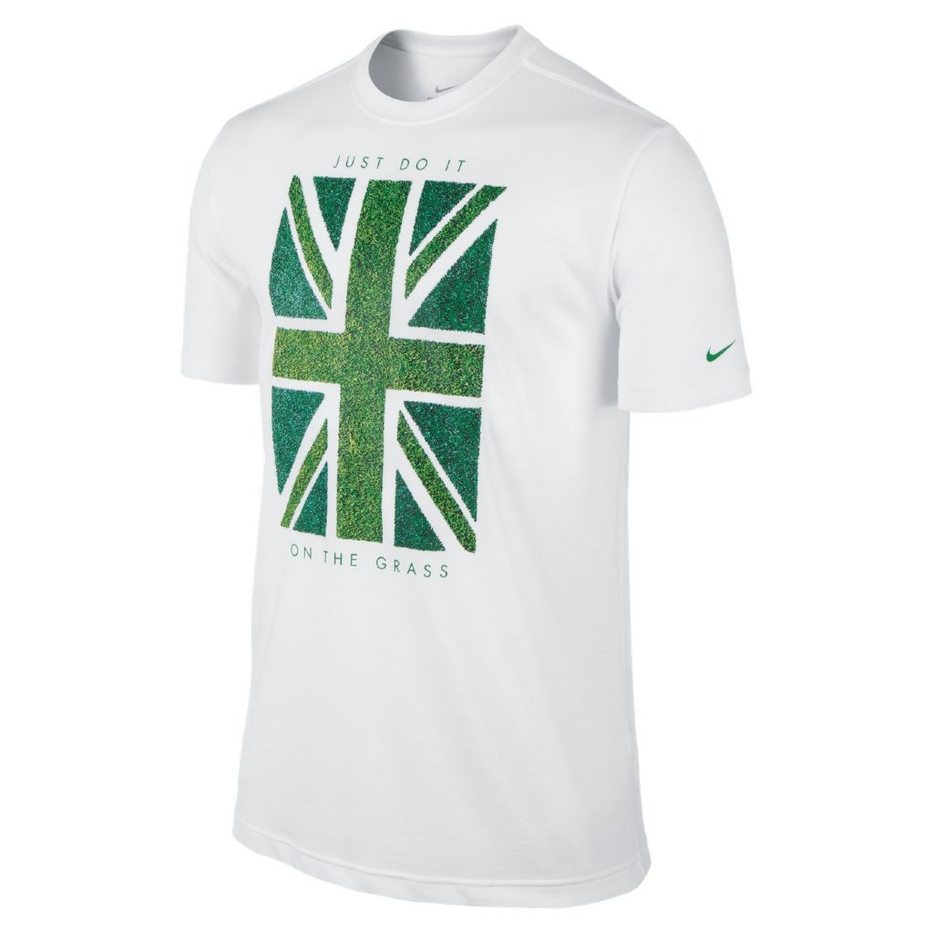 nike union grass ss tee tennistops and shirts mens. Black Bedroom Furniture Sets. Home Design Ideas