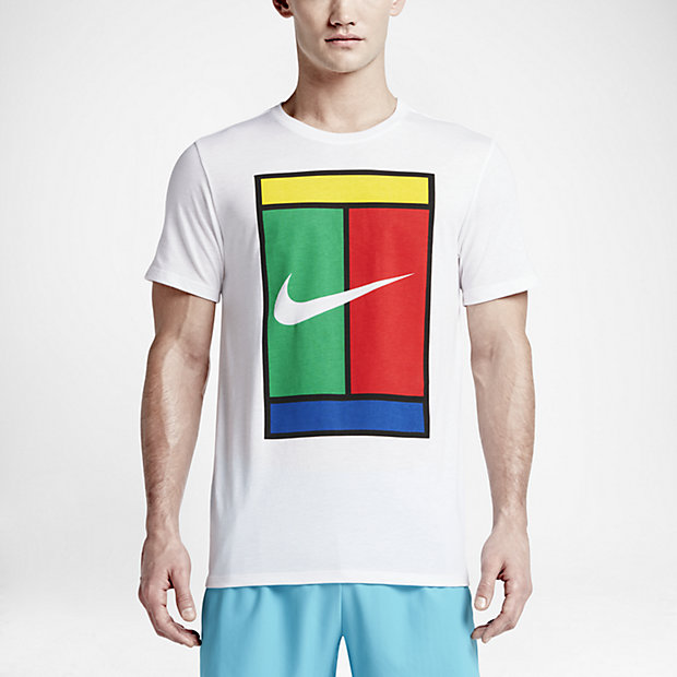 9bb854cd7647 NIKE Oz Court Logo Tee White - Nike - Brands - Other - Tennisshopen.se